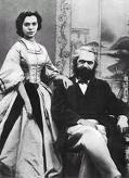 Marx y Jenny Westfalia